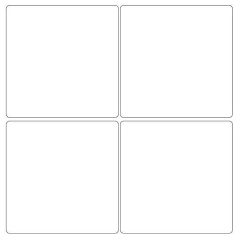 4x4 Label Template