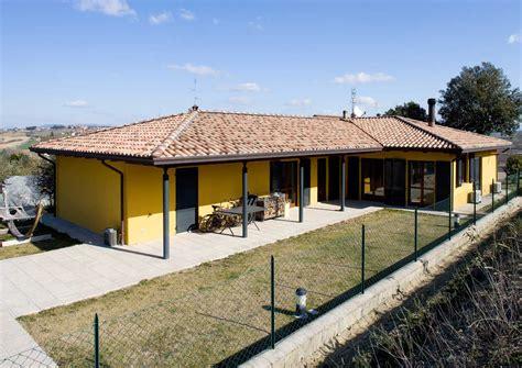 inn casa casa a un piano emilia romagna costantini sistema legno