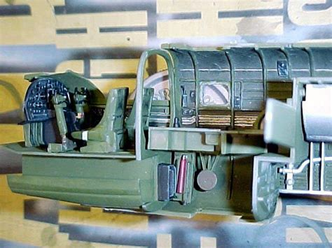 B 25 Mitchell Interior by Accurate Miniatures 3430 1 48 American B 25b