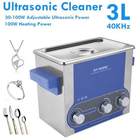 sonic bathroom 3l digital ultrasonic cleaner ultra sonic bath timer