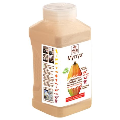 mycryo cocoa butter cacao barry