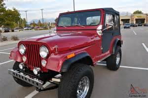 1977 jeep cj5 frame restoration jeep 4x4