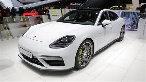 E Porsche Panamera by Porsche Panamera Turbo S E Hybrid Is A Proper Flagship In