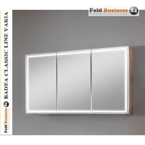 spiegelschrank mit beleuchtung badea dreit 252 riger spiegelschrank mit led beleuchtung tiefe