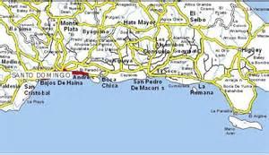 maps of san pedro de marcoris