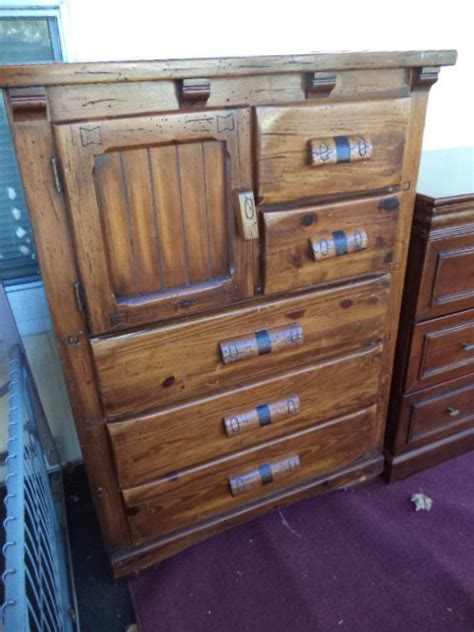 I A Link Rawhide Dresser Nightstand And Rolltop Desk And My Antique I A Link Rawhide Dresser Nightstand And Rolltop Desk And My Antique