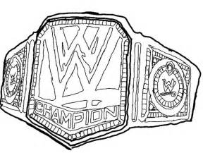 coloring download wwe belt coloring pages wwe belt coloring pages wwe championship belt