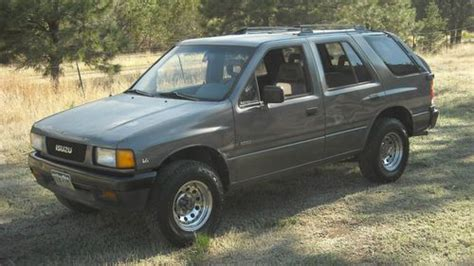 sell used 1992 isuzu rodeo 4x4 in boncarbo colorado united states