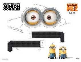 minion mask template 5 easy ways to make minion goggles or glasses