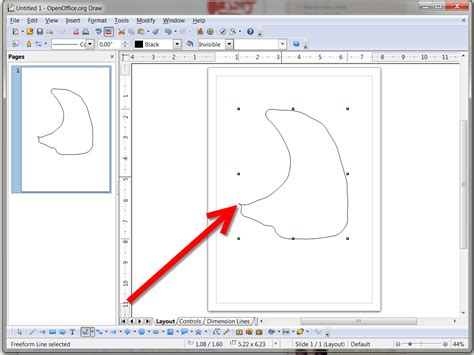 doodle drawer how to draw freeform shapes using open office draw 3 steps