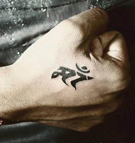 tattoo on hand of maa sooraj pancholi got maa inked 59220