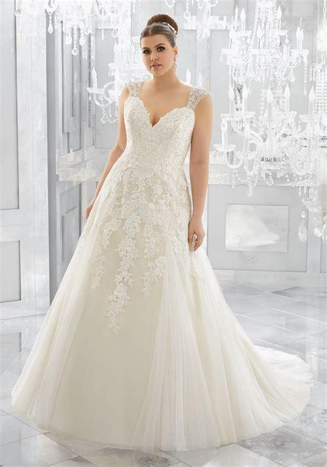 Merah Plus Size Wedding Dress   Style 3222   Morilee