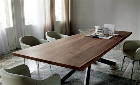 Modern Dining Table Design by Cattelan Italia ? steel base