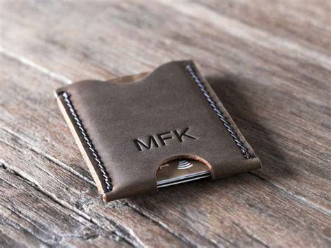 Mens Gift Cards - men s credit card holder carry only what you need gifts for men