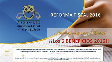 iva en rif para 2016 reforma fiscal 2016 los 6 beneficios de ser rif para