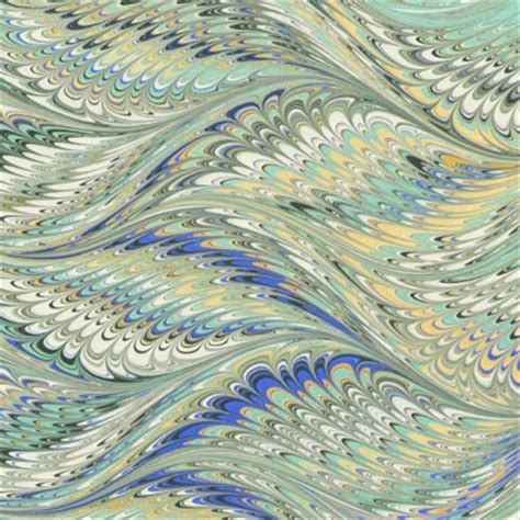 Handmade Marble Paper - the currier bindery 187 handmade marbled paper