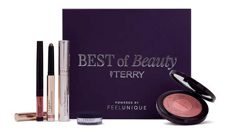 by terry feelunique бьюти бокс by terry favourites powered by feelunique