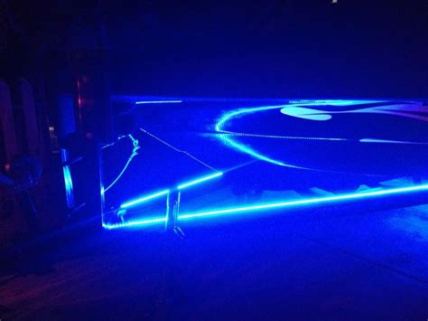 boat trailer underglow strip led runway lights for the trailer boats