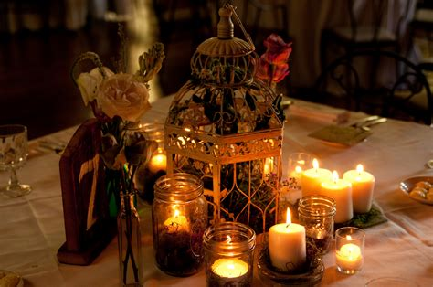 Rustic Candle Centerpieces Pennsylvania Rustic Wedding At Green Gables Rustic