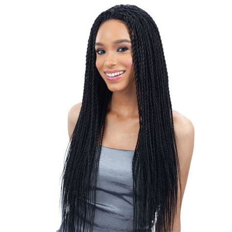 Wig Lace Front freetress equal braided lace front wig senegal twist lace front wig divatress