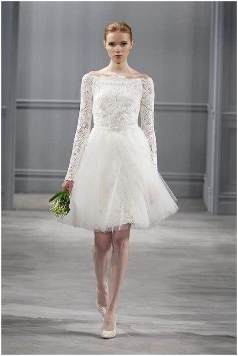 Jackie O Style Wedding Dresses by Lhuillier 2014 Bridal Collection