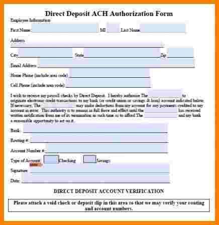 intuit payroll direct deposit form sales slip template