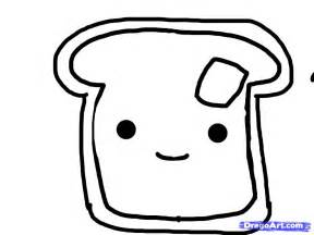 4 Slice Long Toaster How To Draw Toast Step By Step Food Pop Culture Free