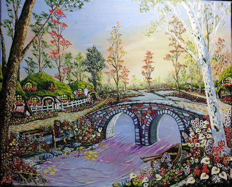 disegno giardino sfondi alberi paesaggio disegno la pittura barca