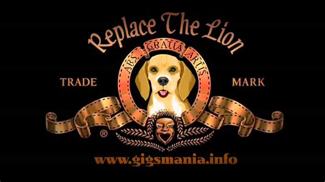 Replace The Mgm Roaring Lion Doovi Mgm Intro Template