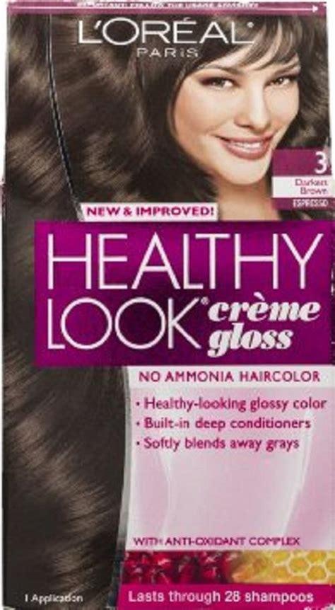 loreal oxydant creme hair colourants ebay loreal healthy look creme gloss hair color no ammonia you choose the shade ebay