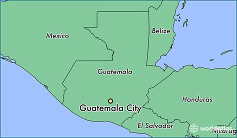 where is guatemala on the map where is guatemala city guatemala guatemala city