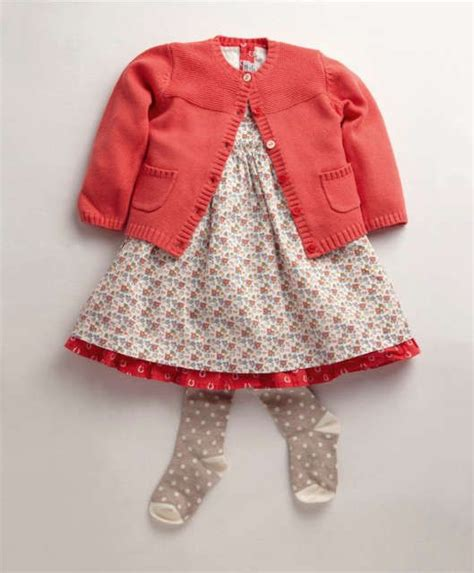 Set Fashion Dress Polka Cardi 3 dress set with cardi tights baby infant