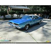 1969 Dodge Charger Hardtop Bright Blue /