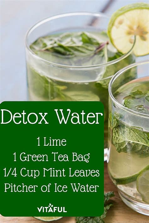 Detox Recipes For Weight Loss by Green Tea Detox Water Recipe For Weight Loss Detox