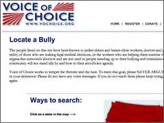 voice the untold story of the pro feminist s movement books voice of choice website removes bully list targeting pro