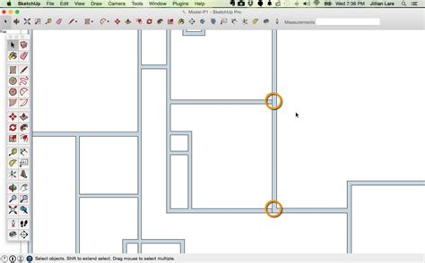 drawing a floor plan in sketchup how to draw a 2d floor plan to scale in sketchup from