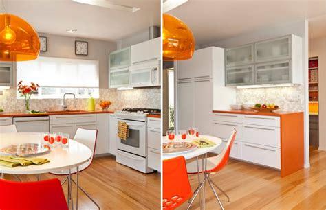 Orange Color Kitchen Design 20 Elements To Use When Creating A Retro Kitchen