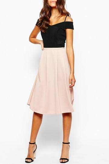 17 best ideas about pink midi skirt on pink