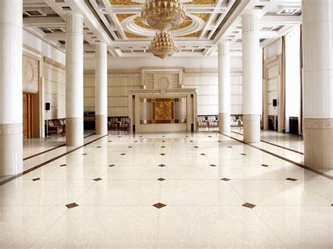 1 White Marble Floor Design - amazing marble floor styles for beautifying your home