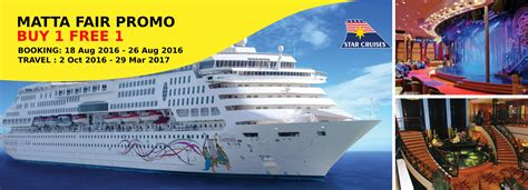 cruises packages star cruise packages malaysia