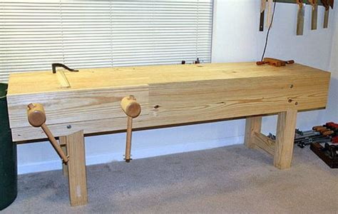 nicholson bench building nicholson workbench by will myers woodworking
