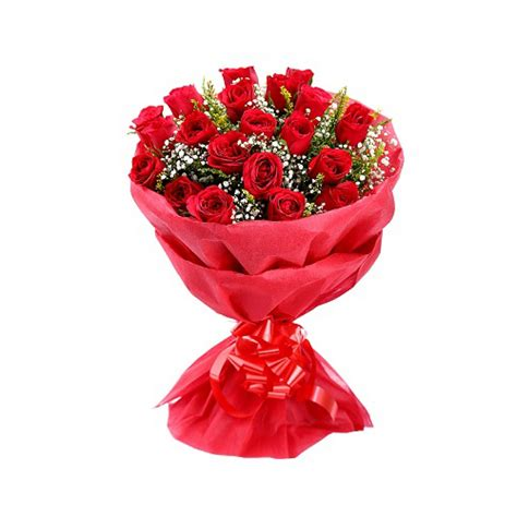 Housewarming Gift by Red Rose Bouquet Buy Gifts Online