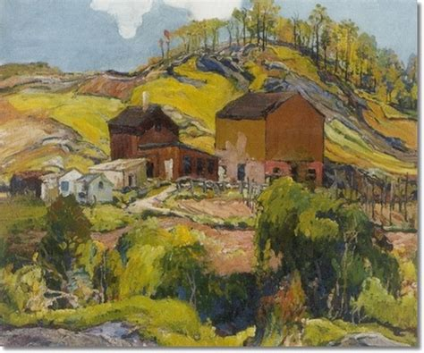 landscape with houses hilly landscape with houses charles reiffel wikiart org