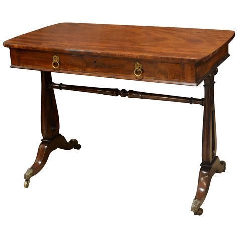 Library Table For Sale by Regency Mahogany Library Table For Sale At 1stdibs