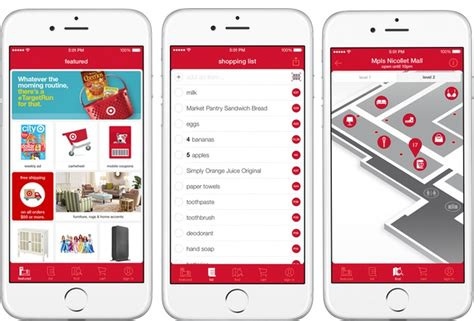mall layout app target s mobile app gets indoor mapping interactive black