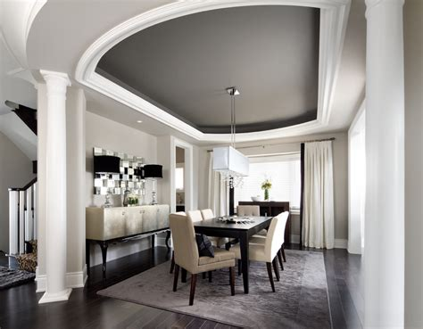 dining room ceiling designs painting a coffered ceiling
