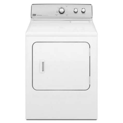 maytag centennial 7 0 cu ft electric dryer in white