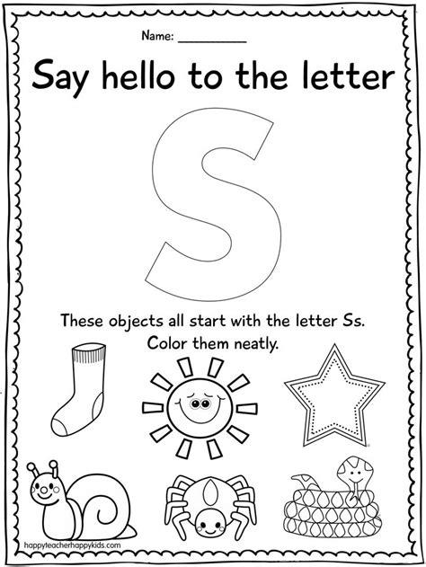 letter k activities preschool lesson plans letter s