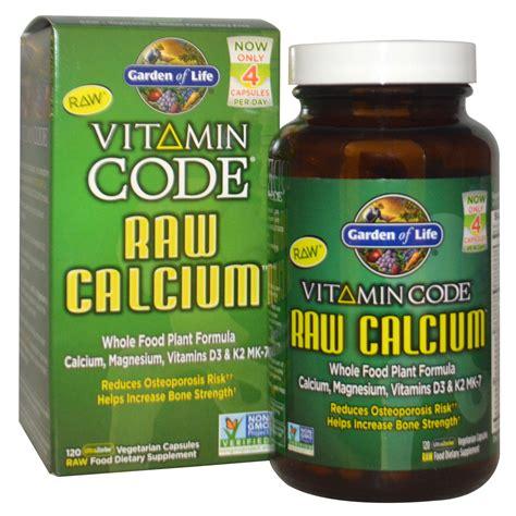 r garden supplements garden of vitamin code calcium 120 veggie caps