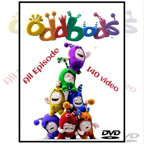 film animasi anak 2016 jual oddbods dvd film animasi anak video edukasi